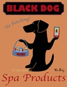 Black Dog Spa Products - Premium Canvas Limited Edition Print