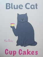 BLUE CAT CUP CAKES