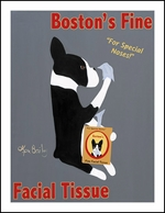 Boston's Fine Facial Tissue - Limited Edition Prints