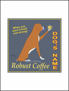 BOXER ROBUST COFFEE - Custom Print