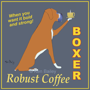 BOXER ROBUST COFFEE - Premium Canvas Limited Edition