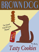 BROWN DOG COOKIES - One-of-a-kind Special