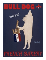 Bull Dog French Bakery - Fine Limited Edition Prints