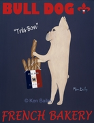 Bull Dog French Bakery - Premium Canvas Limited Edition Print