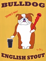 Bulldog English Stout - Original Painting