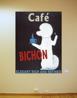 Café Bichon - The Original Painting