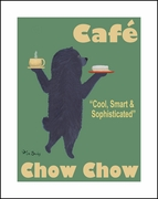 Cafe Chow Chow - Limite Edition Print