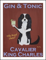 CAVALIER GIN & TONIC - Limited Edition Print