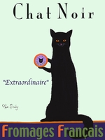 Chat Noir - Premium Canvas Limited Edition Print