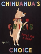 Chihuahua's Choice Chilis - Premium Canvas Limited Edition Print
