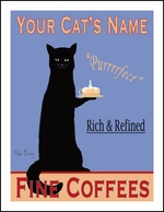 Custom Black Cat Coffee