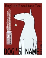 Custom Bull Terrier Tea