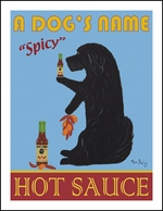Custom Havanese Hot Sauce Print
