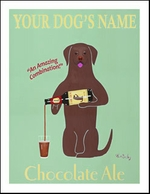 Custom Labrador Chocolate Ale