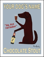 Custom Labrador Chocolate Stout