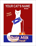 Custom White Cat Milk