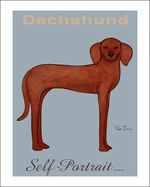Dachshund Self Portrait