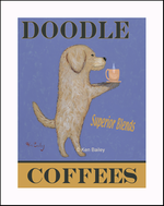 DOODLE COFFEES - Fine Limited Edition Print