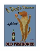 GOLDEN OLD FASHIONED - CUSTOM PRINT