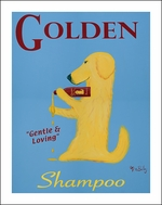 Golden Shampoo - Limited Edition Print