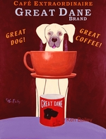 Great Dane Coffee -  Premium Canvas Limited Edition Print