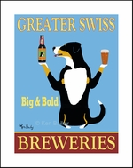 GREATER SWISS BREWERIES - Limited Edition Print
