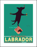 LABRADOR BRAND - BLACK LAB Limited Edition Print & One-of-a-kind special