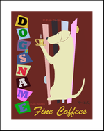 LABRADOR FINE COFFEES - Custom Print