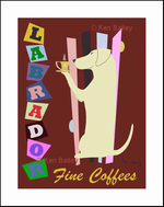 LABRADOR FINE COFFEES - Limited Edition Print