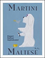 Maltese Martini - Limited Edition Print
