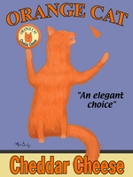 Orange Cat - Premium Canvas Limited Edition Print