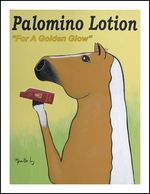 Palamino Lotion - Limited edition prints from $32.50