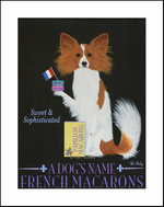 PAPILLON FRENCH MACAROONS - Custom Print