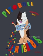 Pit Bull Jaw Breakers - Premium Canvas Limited Edition Print