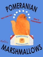 Pomeranian Marshmallows - Premium Canvas Limited Edition Print
