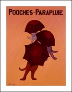 POOCHES - PARAPLUIE - Limited Edition Print