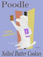 POODLE SALTED BUTTER COOKIES - Premium canvas limited edition