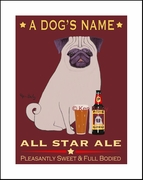 PUG ALL STAR ALE - Custom Print