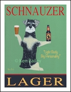 SCHNAUZER LAGER - Limited Edition Prints