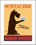 SCHNAUZER ROBUST COFFEES - Fine Limited Edition Print