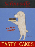 Schnoodle Tasty Cakes - Premium Canvas Limited Edition Print