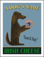SETTER IRISH CHEESE - Custom Print