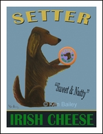 SETTER IRISH CHEESE - Limited Edition Print