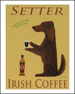 SETTER IRISH COFFEE - Limited Edition Print