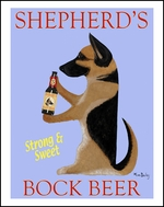 Shepherd's Bock Beer - Limited Edition Print