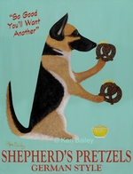 Shepherd's Pretzels - Premium Canvas Limited Edition Print