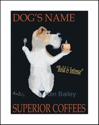 TERRIER SUPERIOR COFFEES - Custom Print
