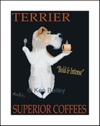 TERRIER SUPERIOR COFFEES - Fine Limited Edition Print