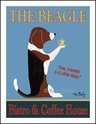 The Beagle Bistro - Limited Edition Print