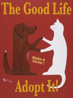 The Good Life - Adopt It - Premium Canvas Limited Edition Print